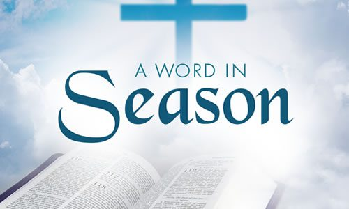 A Word In Season